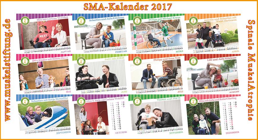 Bestellung SMA-Jahreskalender 2017
