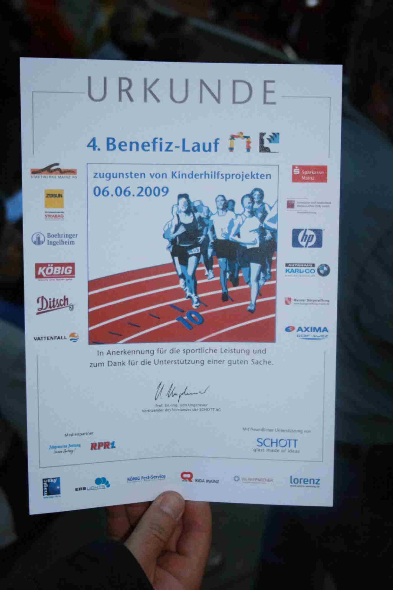 Run for Children - 06.Juni 2009